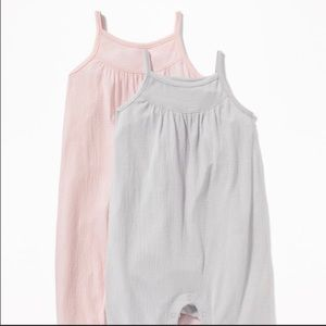 Old Navy One Pieces - Set of TWO Old Navy Rompers